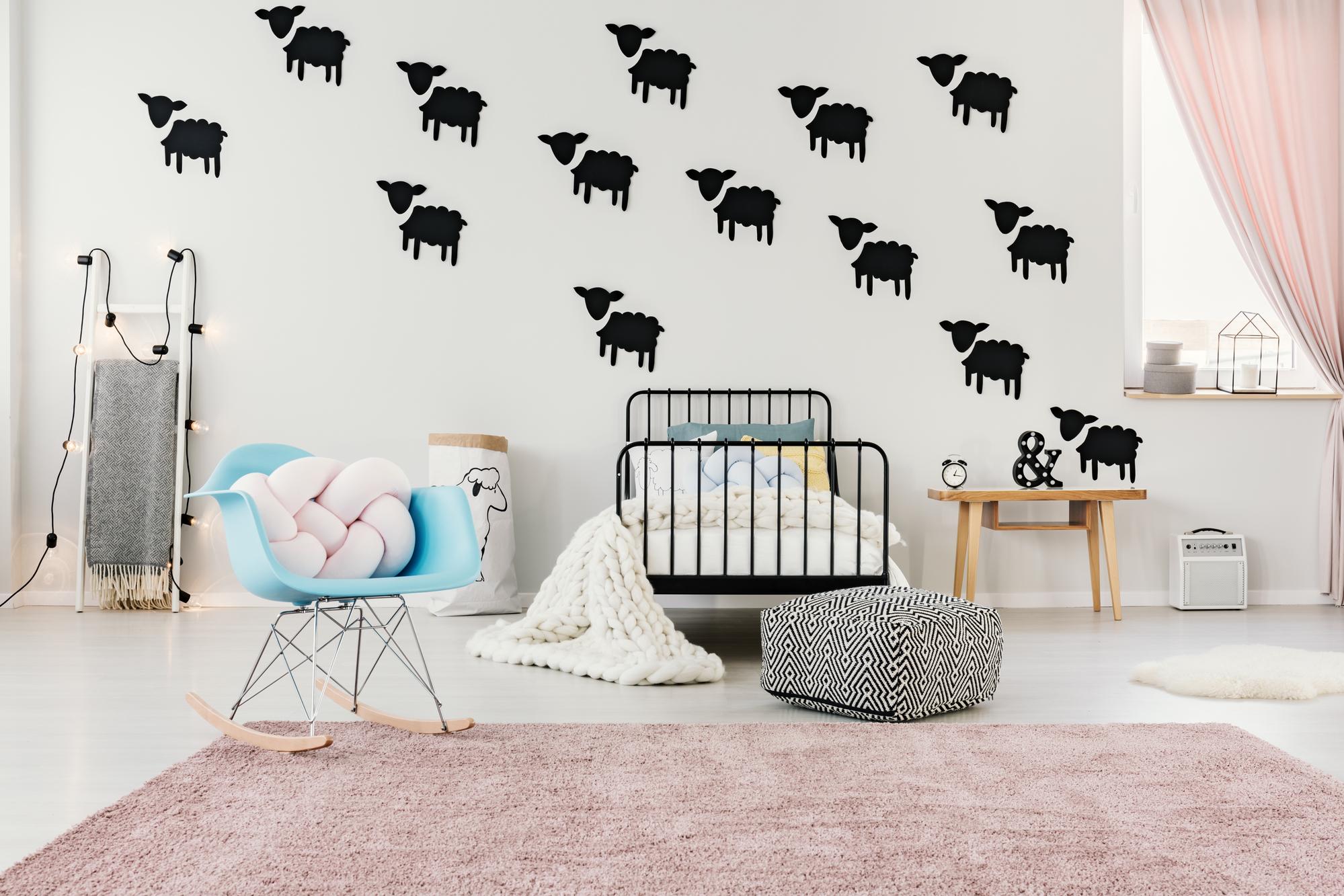Bare ut Tre populære former for vægpynt til hjemmet VE-91