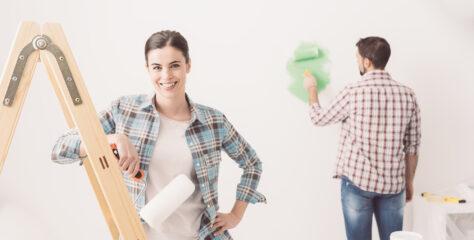 Sådan får man hjemmets vægge til at shine på ny