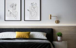 nyt og flot soveværelse