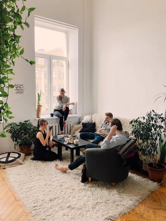 Kvalitetstid i stuen
