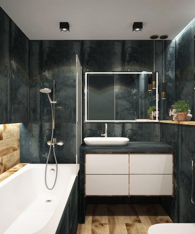 Toilet med moderne design