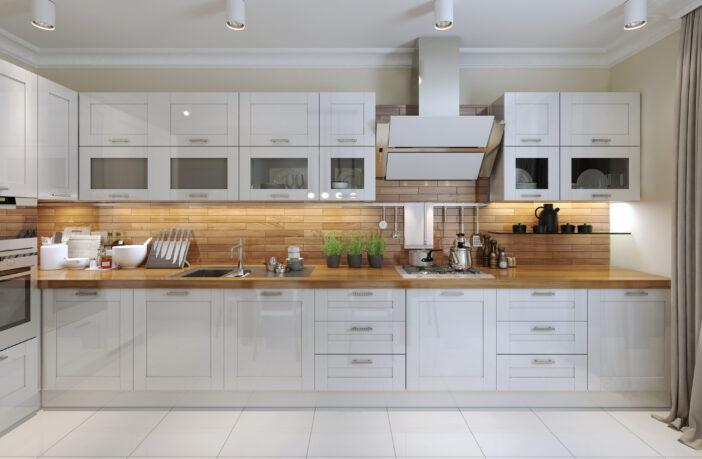 Køkken med god belysning